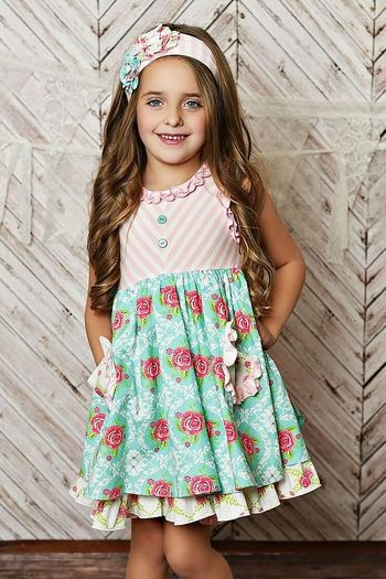 Serendipity Rose Garden Dress & Shorties