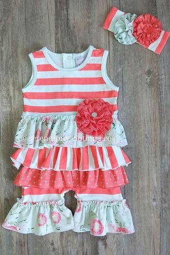 Serendipity Shortall in Coral Vine (9Mos & 24Mos)