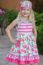 Serendipity Spring Dress Island Floral