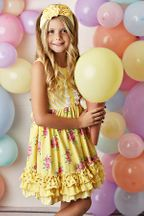 Serendipity Spring Garden Dress with Shortie (3T,4T,4,5)