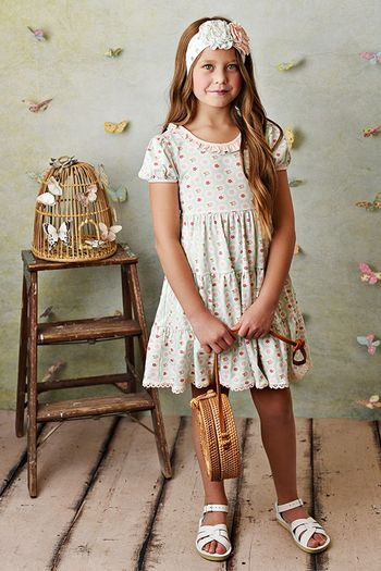 Serendipity Sweet Pea Dress and Shorties (Size 2T to 10)