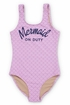 Shade Critters Mermaid On Duty Lilac (Size 2T) Alternate View