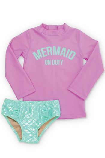 Shade Critters Mermaid Set in Lilac and Mint (2T & 5)