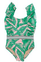 Shade Critters Palm Ruffle Belted Swim