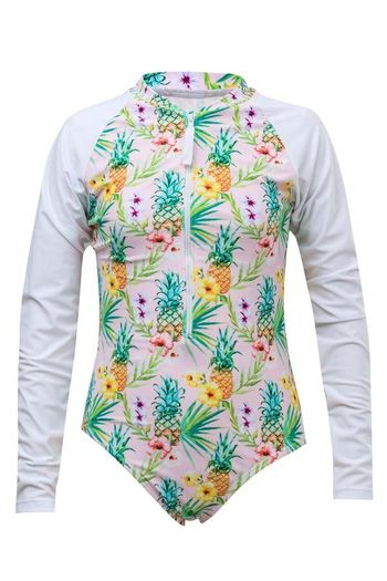 SnapperRock Rashguard Tropicana Swimsuit (3,4,10,12,14)