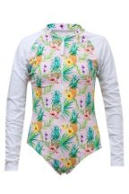 SnapperRock Rashguard Tropicana Swimsuit (3,4,10,12)