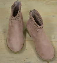 Sole Mate Girls Boot in Blush