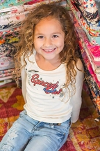 Spaced Out Ivory Tee (2T,3T,4T,7,14)