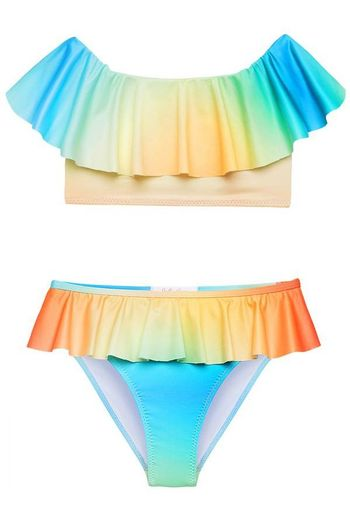Stella Cove Dawn Tie Dye Bikini for Girls (6,8,10,12,14)