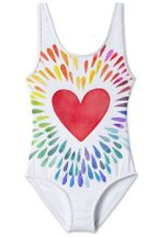Stella Cove Happy Heart Tank Swimsuit (4,8,10,12)