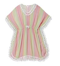 Stella Cove Pastel Stripe Swimsuit Coverup