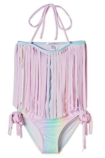 Stella Cove Rainbow Open Back Swimsuit (8,10,12)
