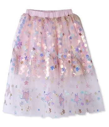 Stella Cove Sequin Tulle Skirt (2,4,6)