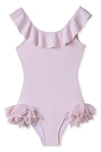 Stella Cove Swimsuit with Petals on Side (Sizes 4 to 12)