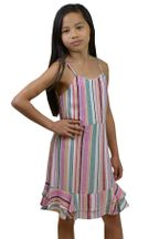 Summer Dress for Tweens Striped