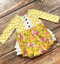 Swoon Baby Little Honey Romper (3Mos,6Mos,9Mos,18Mos)