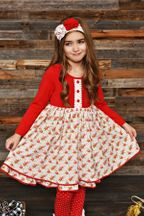 Swoon Baby Winter Bloom Flair Dress