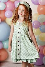 Swoon Flora Bella Prim Pocket Dress (2T & 3T)