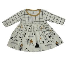 Tesa Babe Home Sweet Home Dress for Baby (Size 12-18Mos)