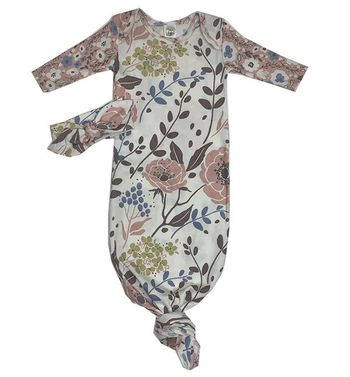 Tesa Babe Wild Roses Gown and Headband