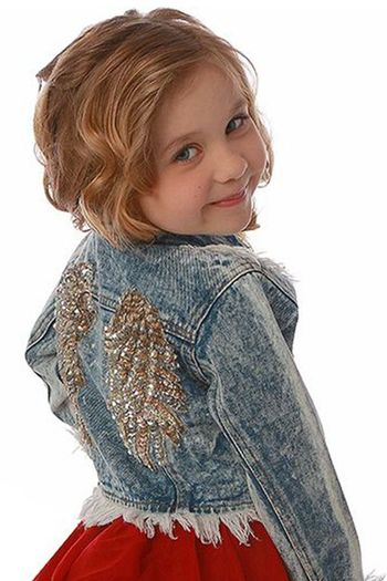 This Angel Has Her Wings Denim Jacket (3T,4T,6X/7)