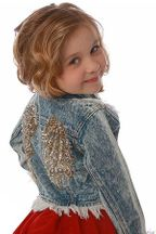 This Angel Has Her Wings Denim Jacket (3T,5,6X/7)