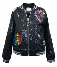 To Infinity And Beyond Bomber Jacket (2T & 5)