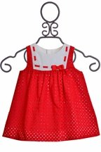 Totally Classic Red Dress for Infants