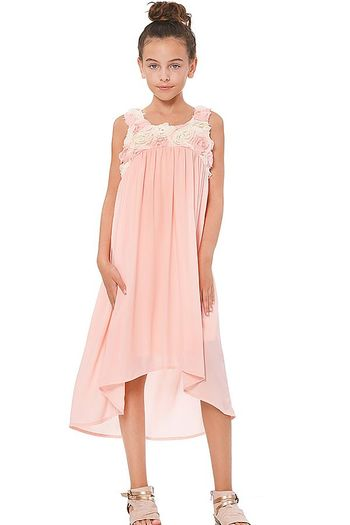 Truly Me Pink Empire Waist Summer Dress SOLD OUT