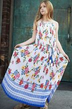 Truly Me Summer Floral Maxi Dress for Tweens (8,10,12)