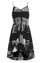 Truly Me Tie Dye Black Dress (10 & 12)
