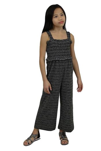 Tween Jumpsuit for Summer in Black