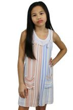 Tween Summer Overalls (Sizes 8 to 14)