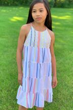 Velveteen Designer Summer Dress (2T,5,12)
