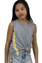 Vintage Havanah Tween Gray Tank Summer (MD 10 & LG 12)