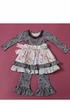 Water Into Wine Dress with Legging (Size 4T) Alternate View