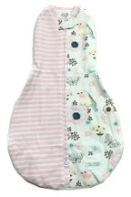 Woombie Swaddle Birdy Stripes