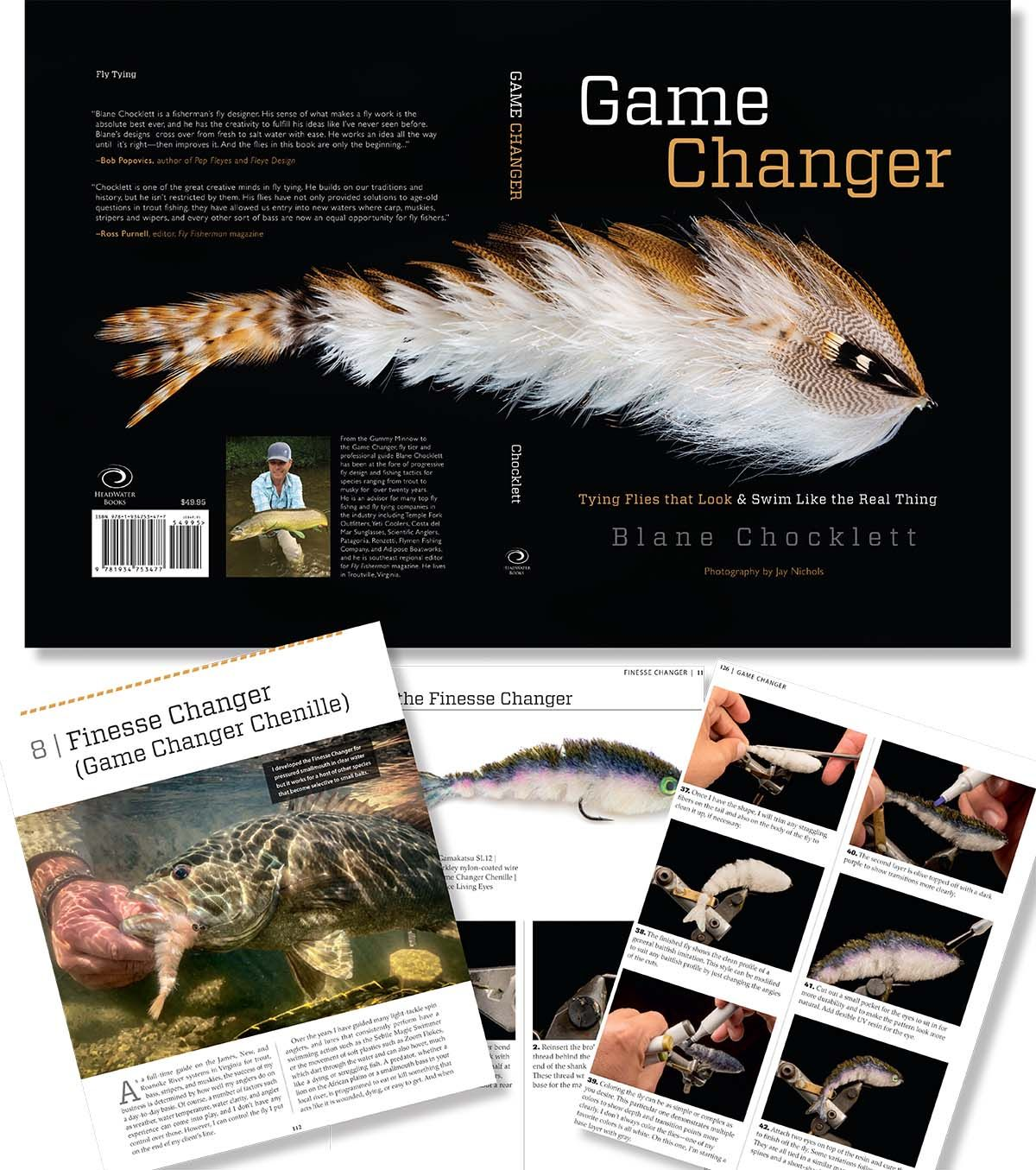 Game Changer Book - Fly Tying Books