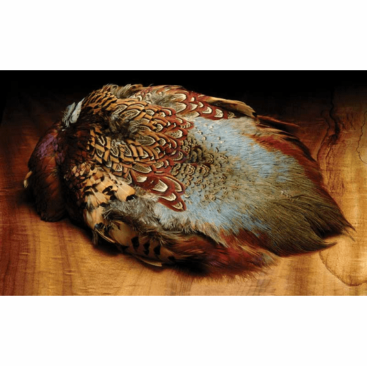 Hareline Ringneck Pheasant Skin, Fly Tying Supplies & Materials