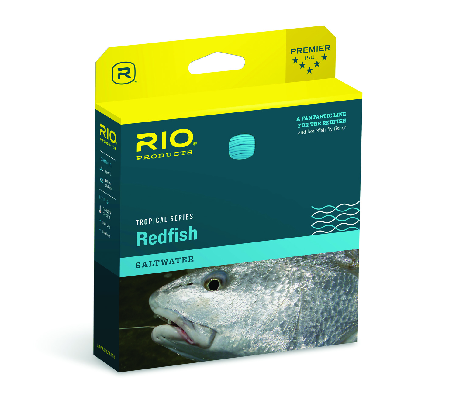 Summer redfish fly line rio tropical series fly lines