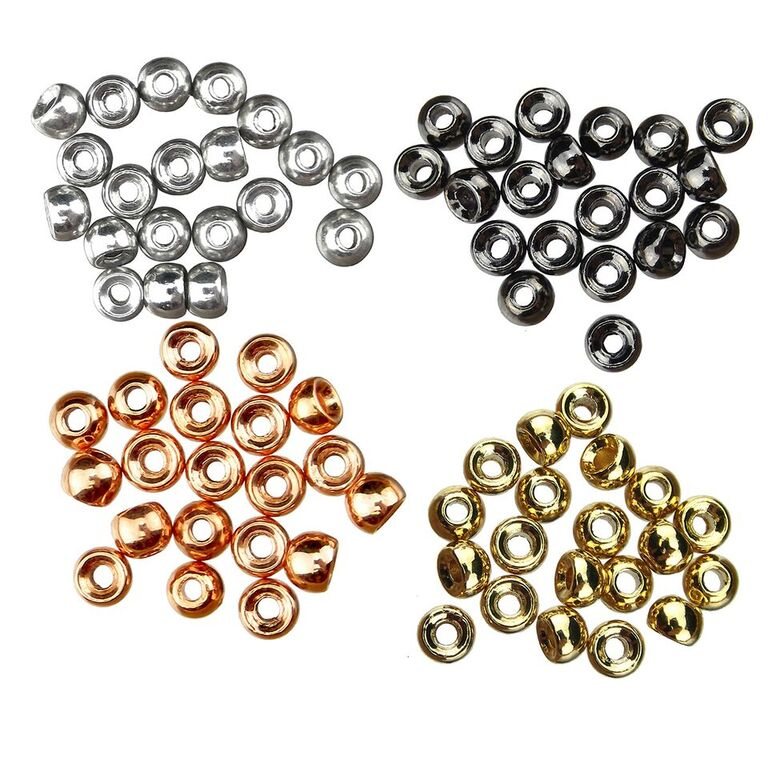 Fly Tying Tungsten Beads Copper  40 qty size  3//32 FREE SHIPPING