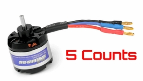 5 Pieces Exceed RC Helium 250 Brushless Motor 1908-3500kv Trex 250 RC Helicopter