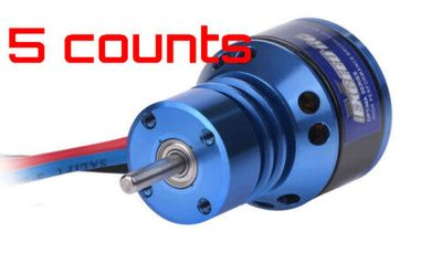 5 Pieces of Exceed RC Optima Brushless Ducted Fan 64mm EDF Motor 4300KV 75M92