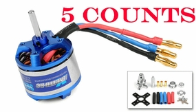 5 Pieces of Exceed RC Rocket 3015-1020KV Brushless Motor for RC Plane