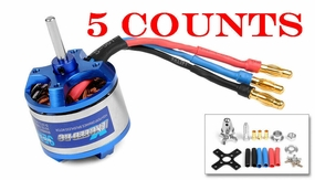5 Pieces of Exceed RC Rocket 3015-1100KV Brushless Motor for RC Plane