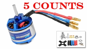 5 Pieces of Exceed RC Rocket 3015-1200KV Brushless Motor for RC Plane