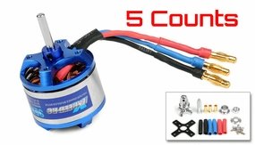 5 Pieces of Exceed RC Rocket 3015-1450KV Brushless Motor for RC Plane