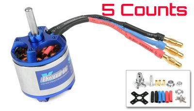 5 Pieces of Exceed RC Rocket 3020-860kv Brushless Motor for RC Plane