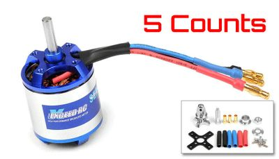 5 Pieces of Exceed RC Rocket 3025-920kv Brushless Motor for RC Plane