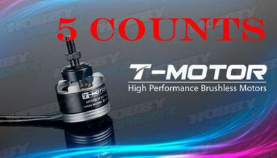 5 Pieces of High Performance Brushless T-Motor MT2208 1100kv for Copter
